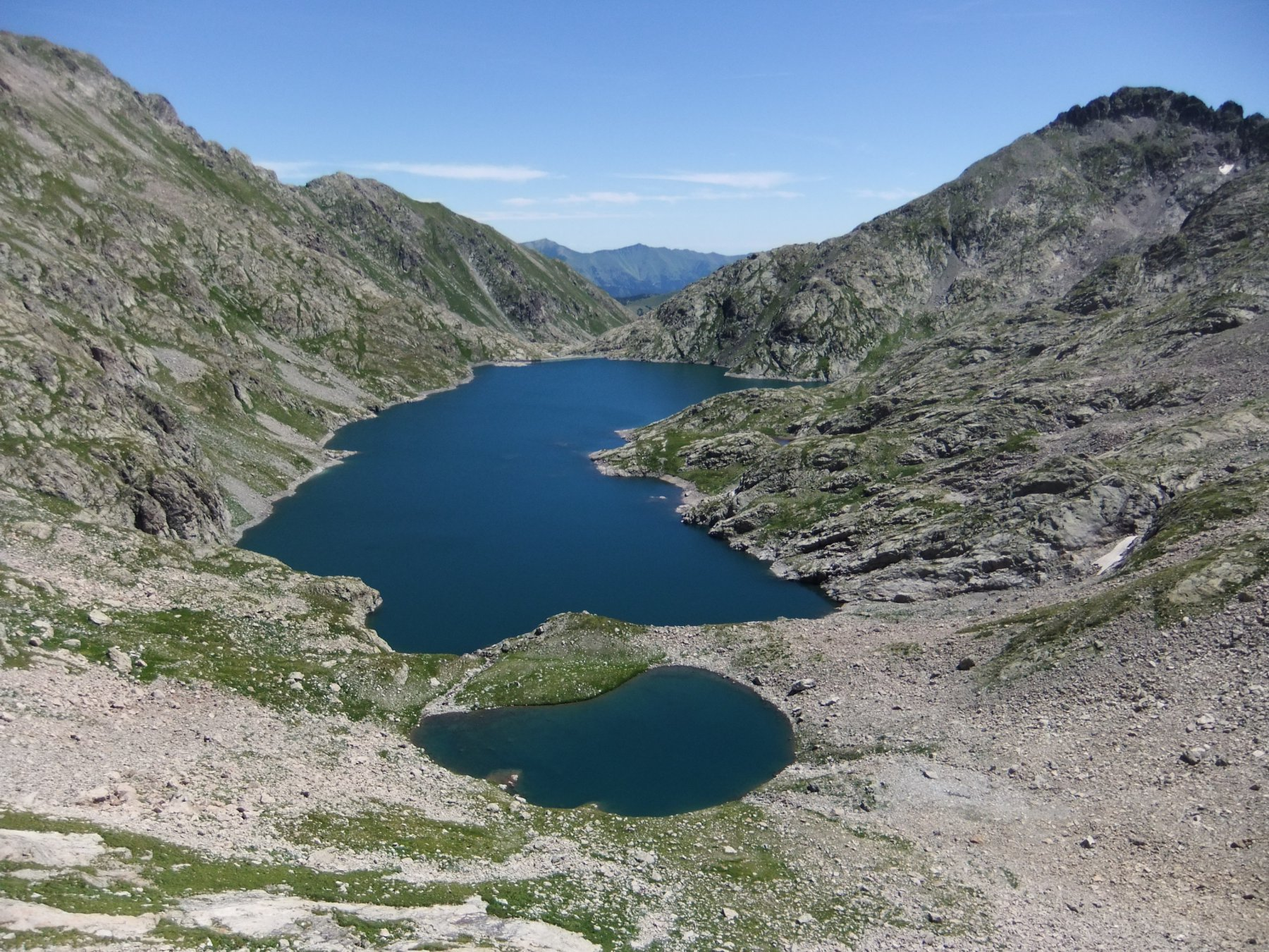 Lac de l' Agnel dal Passo omonimo