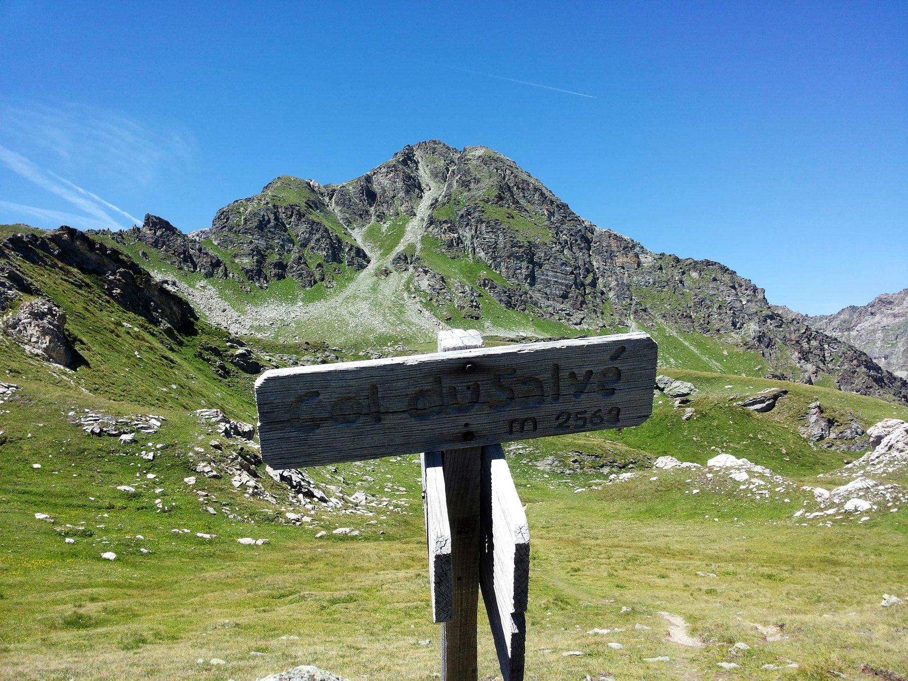 la Becca Fontaney dal Col du Salvé