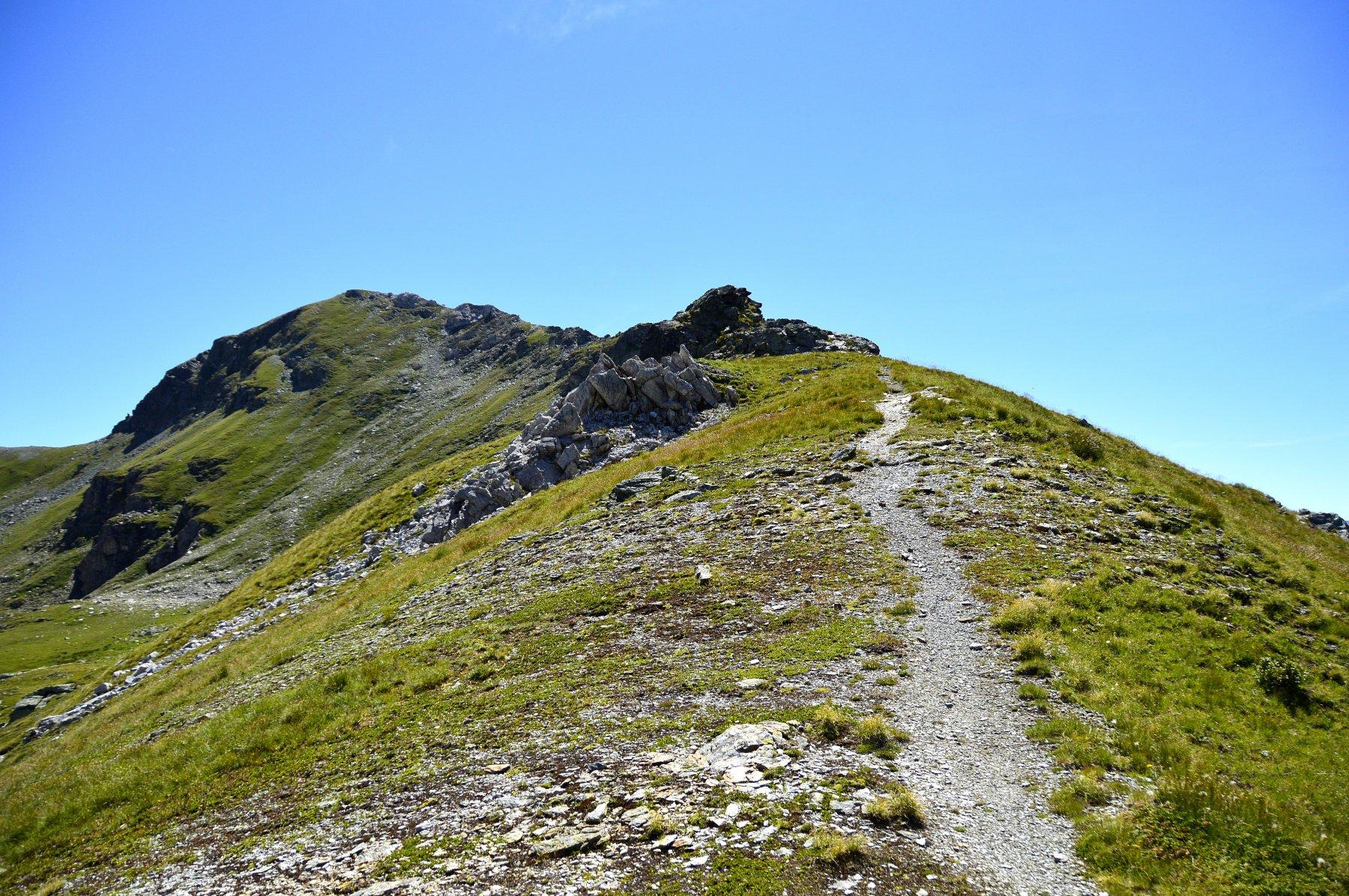 Verso la cima, sentiero 11d