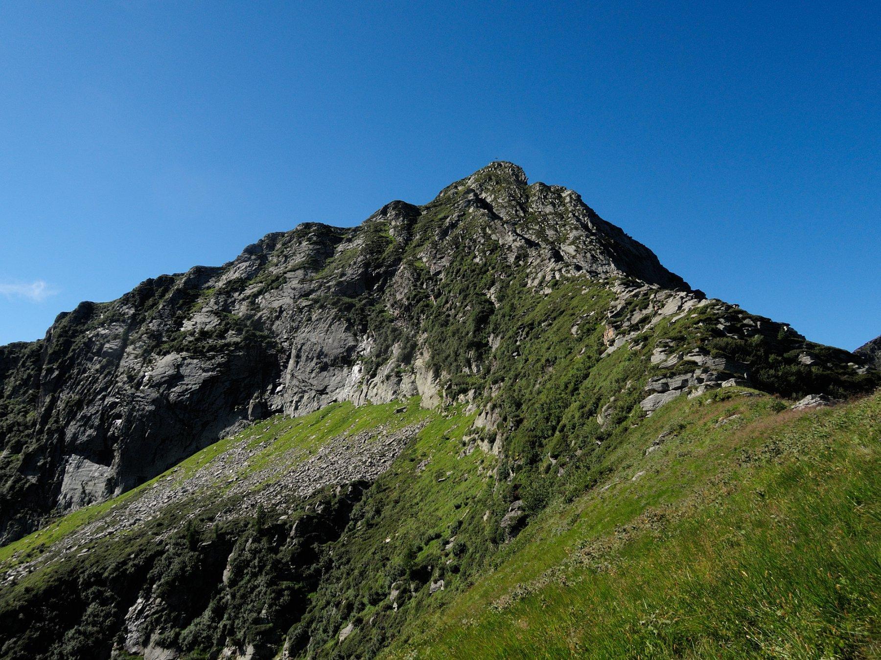 Cresta Nord e versante Nord-Est del Pizzo Ragno