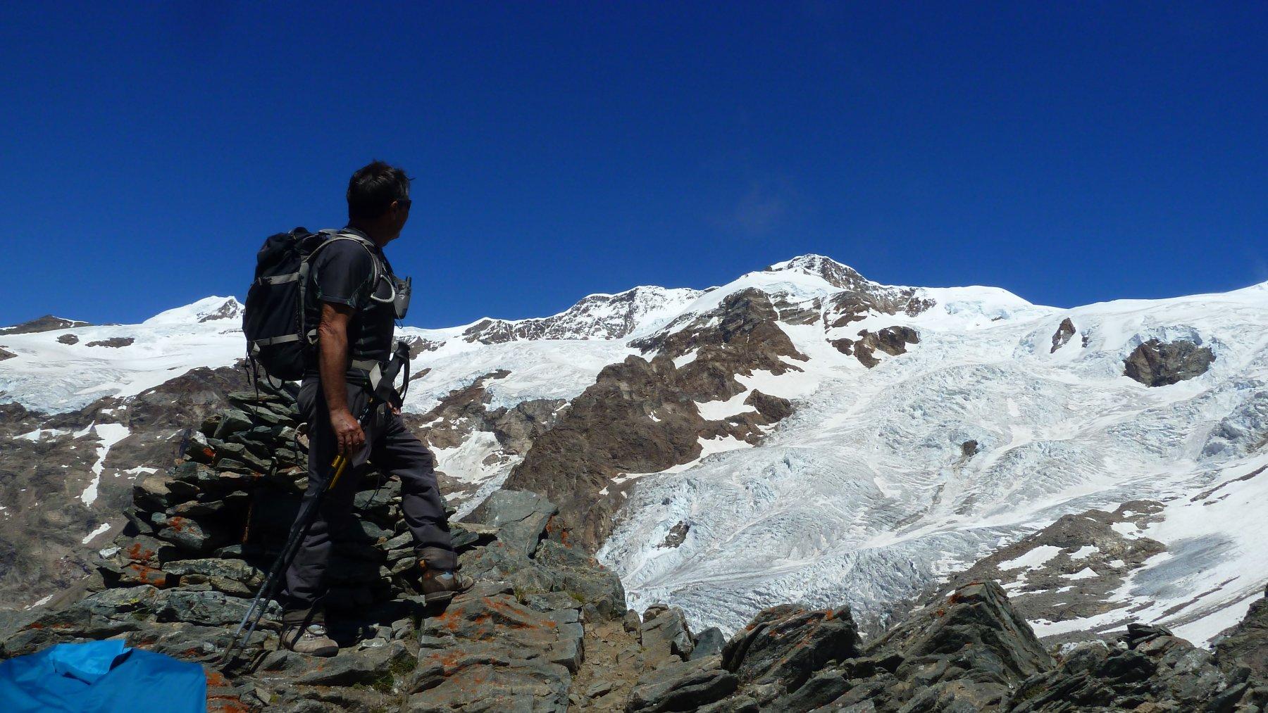 sguardo verso i ghiacciai
