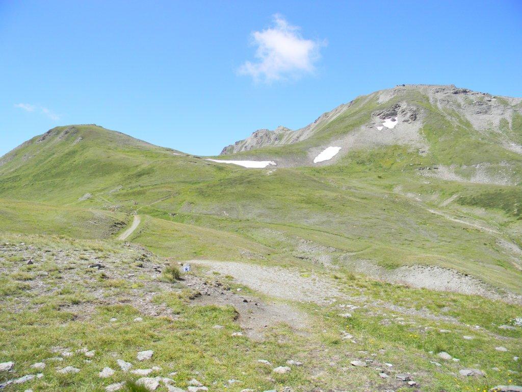 dal colle Sollieres al centro il mont Froid