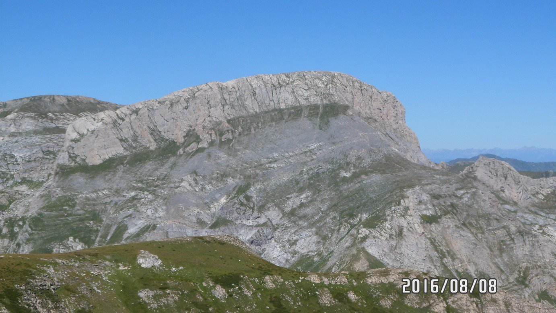 Cima Pian Ballaur e cima delle Saline da cima Pian Comune