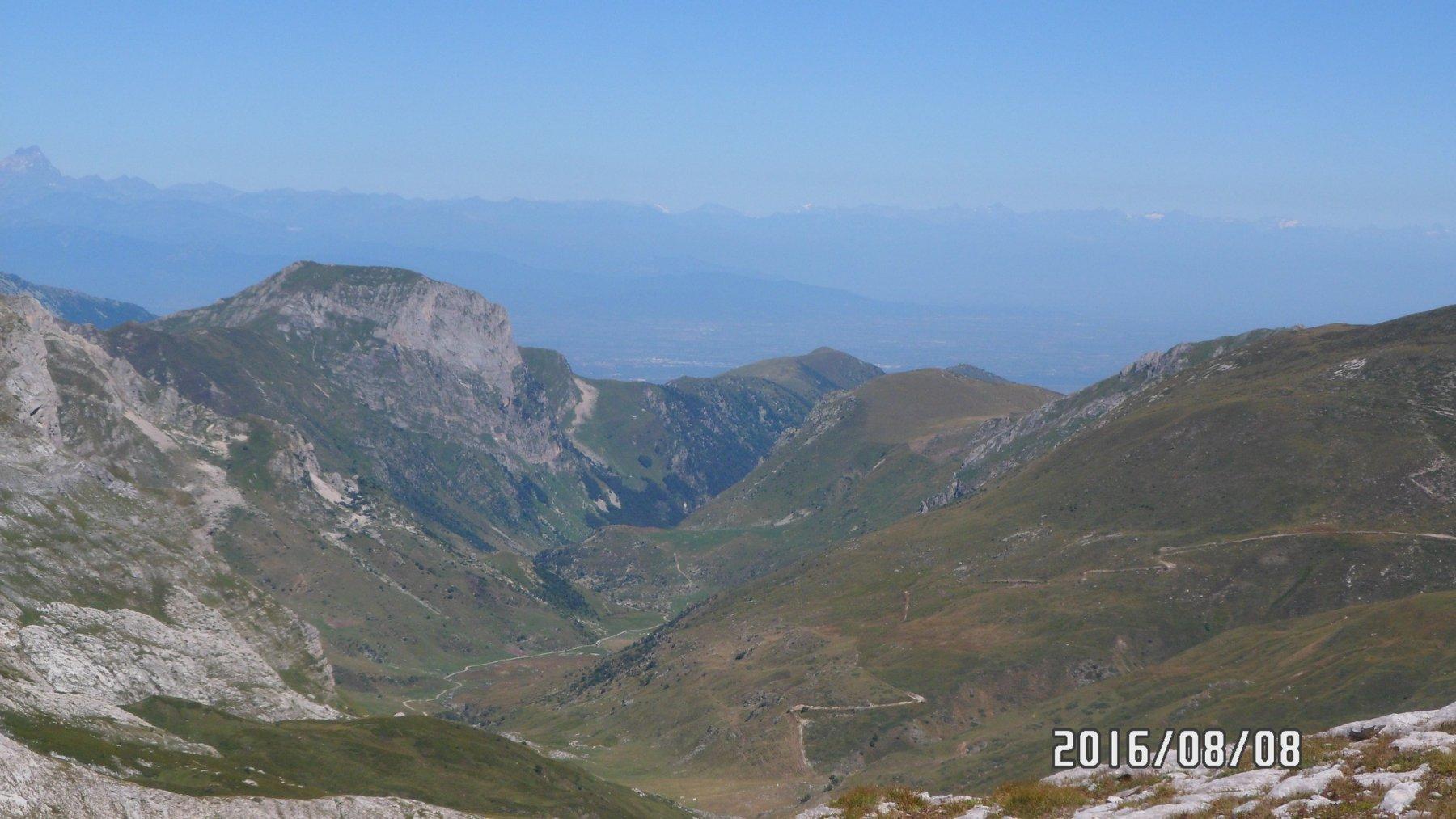 Panorama da cima Pian Comune