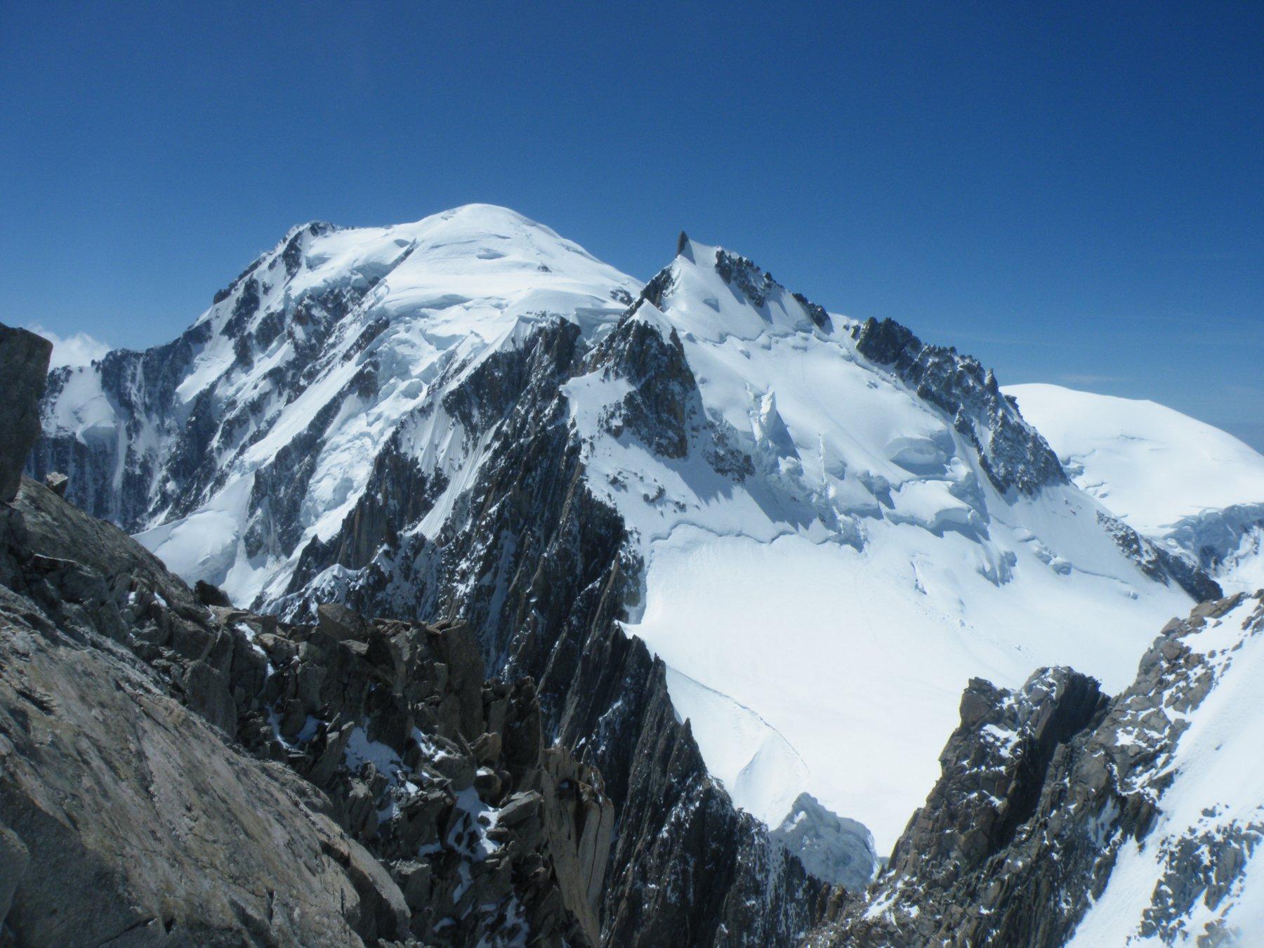 Monte Bianco e Mont Maudit dal Tacul