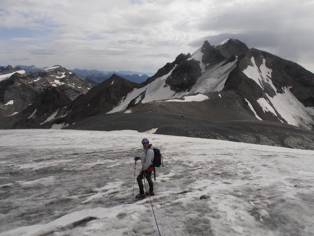 07 - scendendo sul ghiacciaio