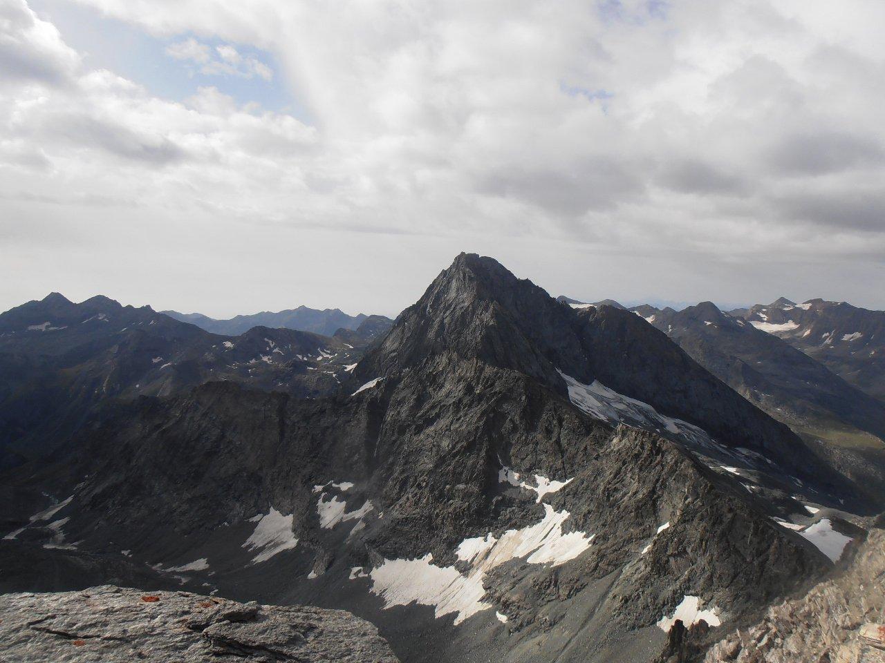 06 - Bessanese vista dal Monte Collerin