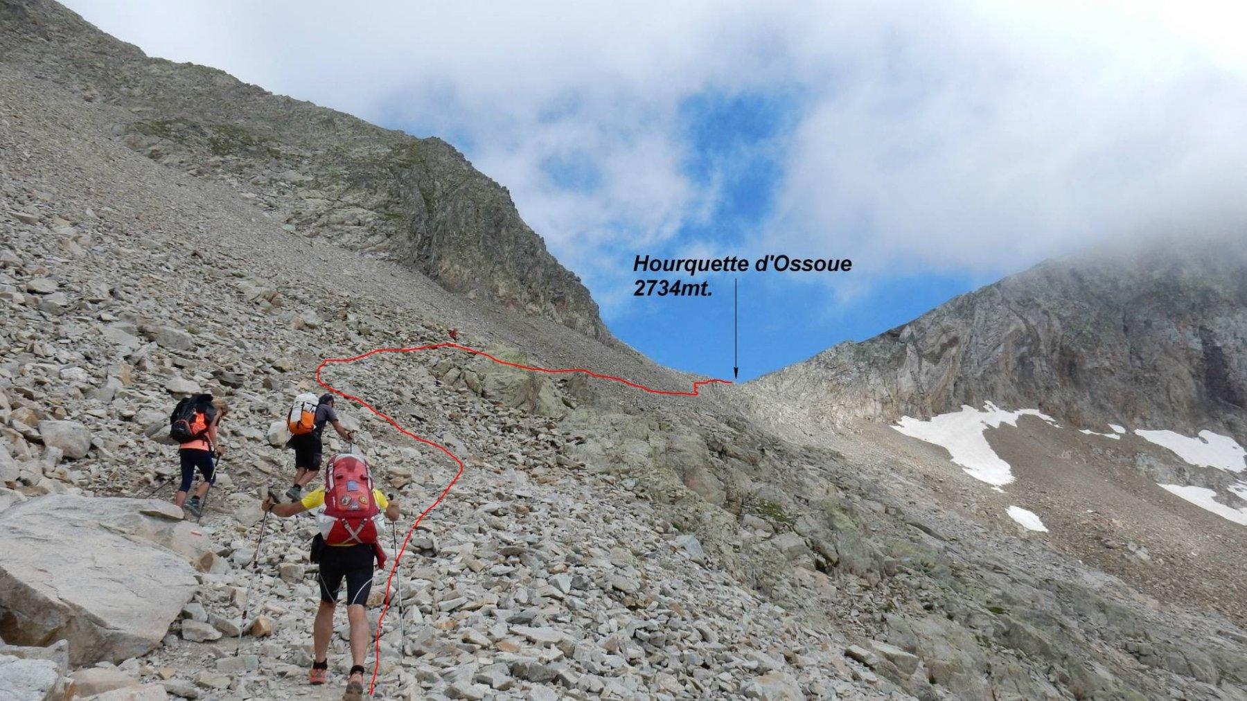 Trek Pirenei Ordesa Gavarnie tappa 2: dal Ref.Oulettes de Gaube al Ref. de Bayssellance 2016-08-10