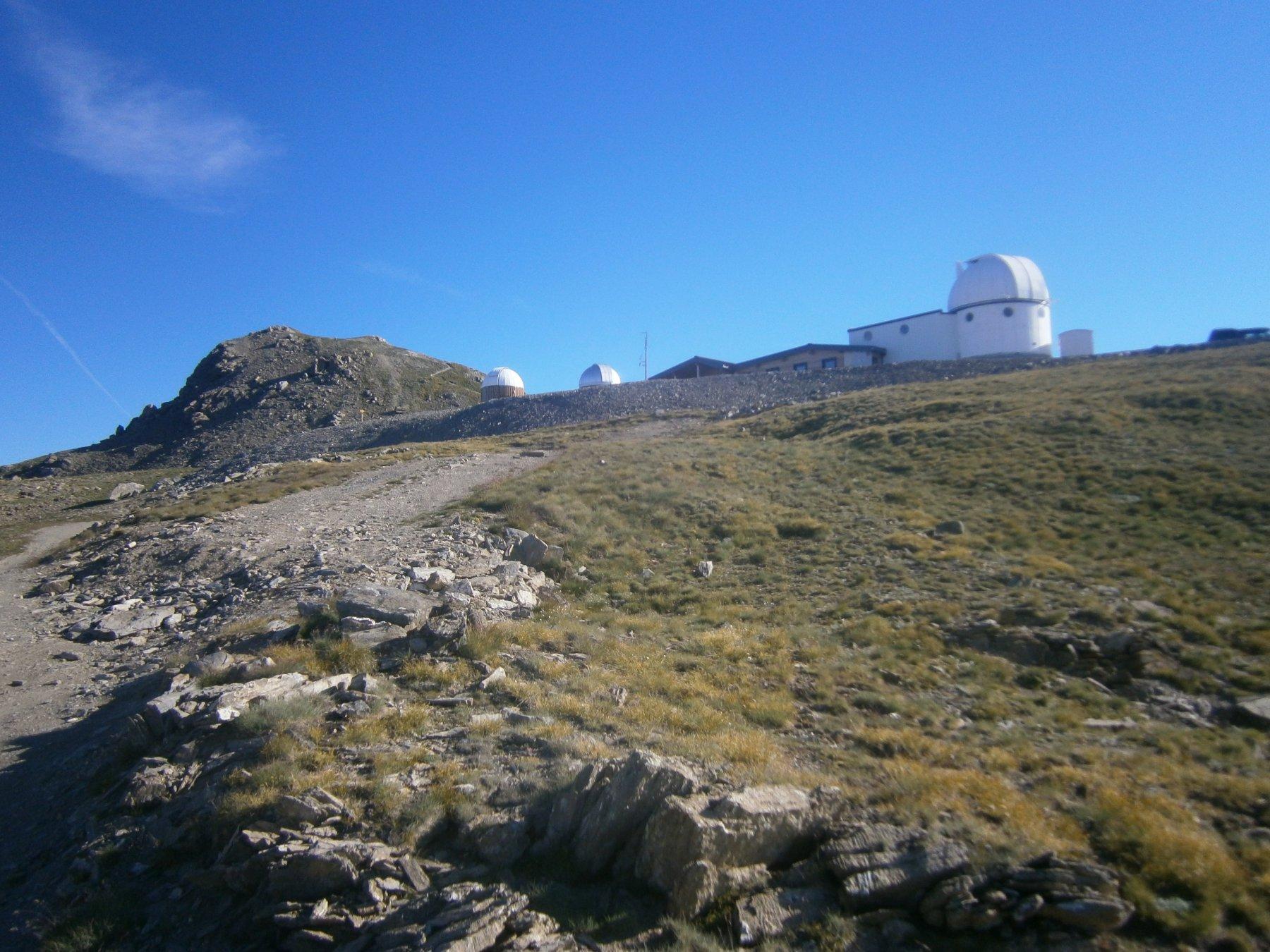 Cima e osservatorio Astronomico