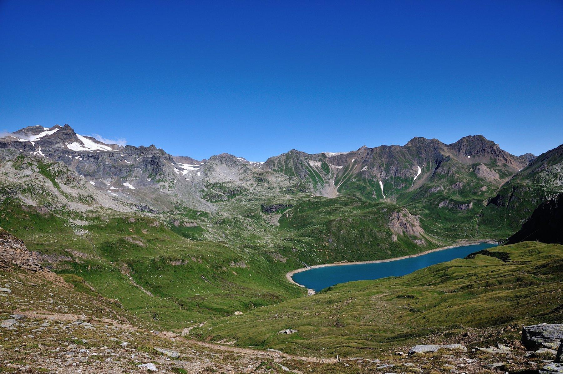Lago Vannino visto dal Passo del Busin