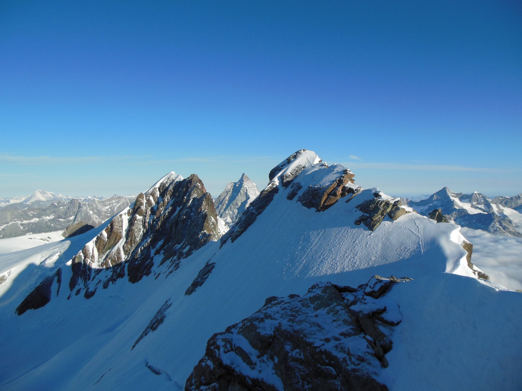 panorama dalla cima del gemello