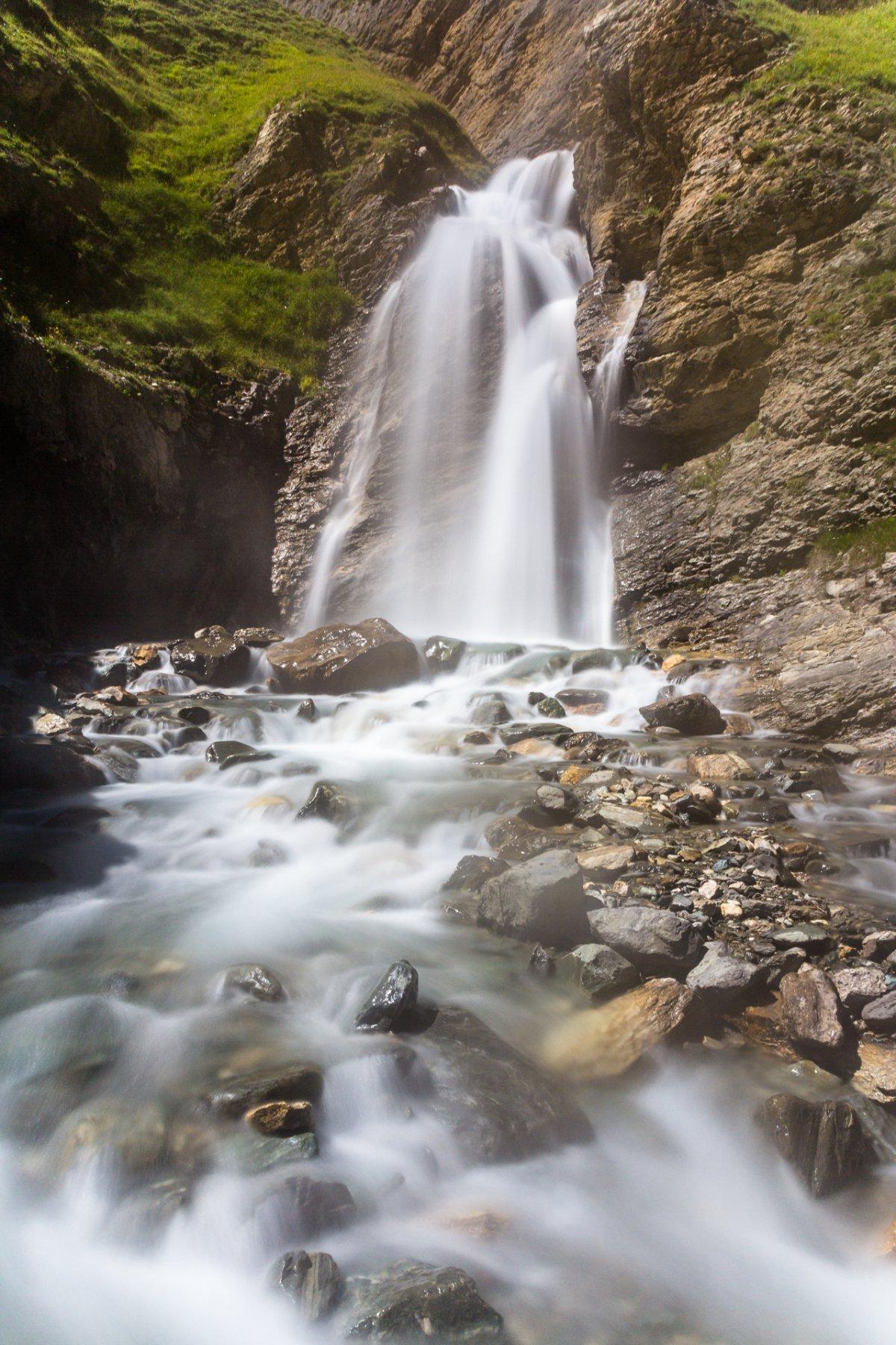 La cascata Goletta