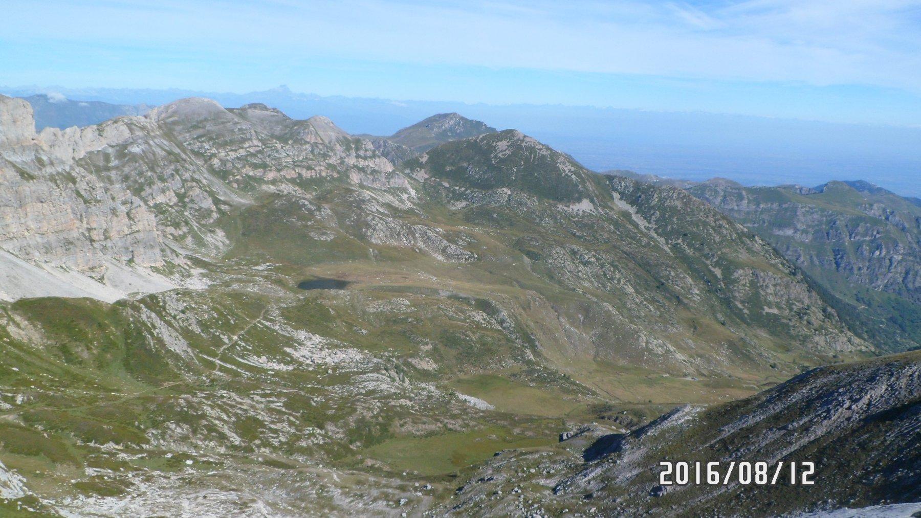 Panorama da cima Revelli
