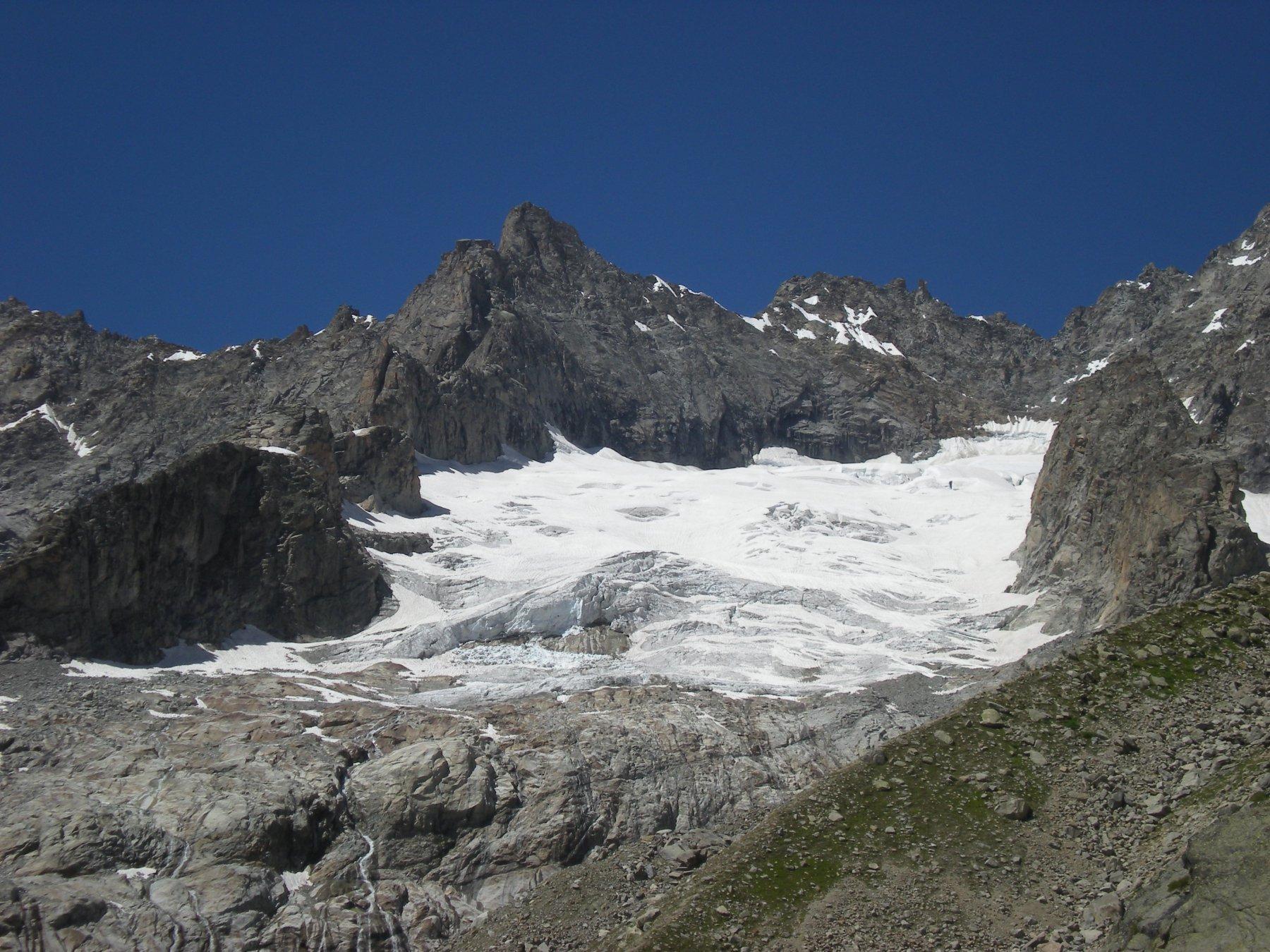 il ghiacciaio del Triolet