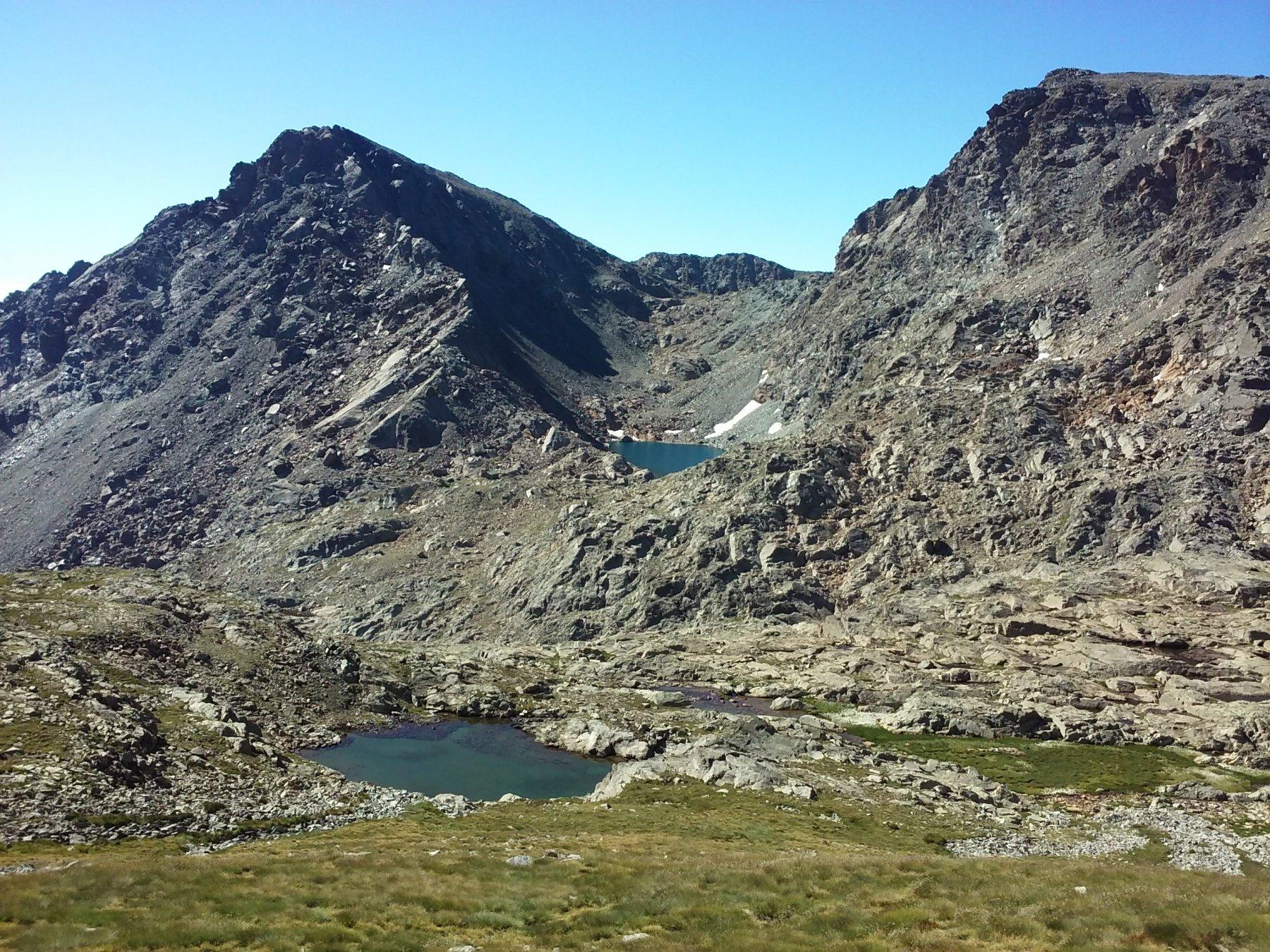 Vista-lago dai pressi del colle Raye Chevrère.
