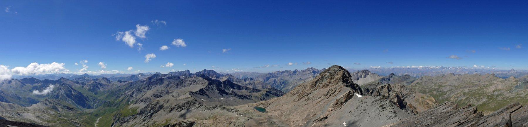 Panoramica dal monte Salza