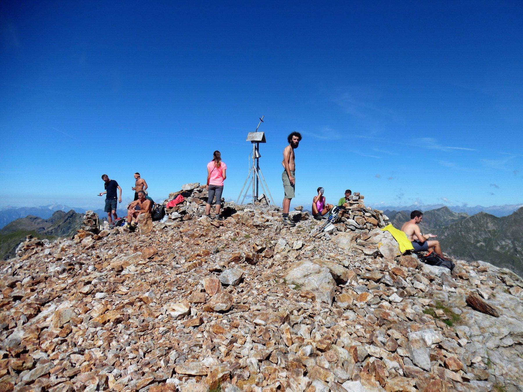 In vetta al Cabianca 2601 m