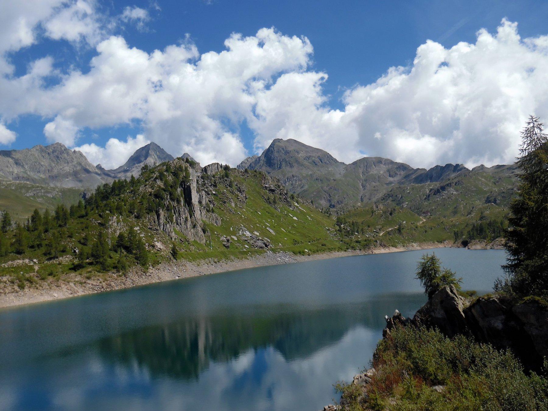 Lago Fregabolgia 1957 m, Diavolo, Diavolino, Grabiasca