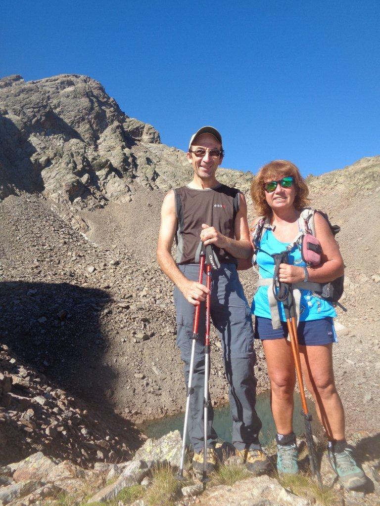 sopra il lago Ischiator Superiore