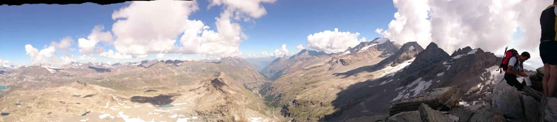 Panorama lato Valsavarenche