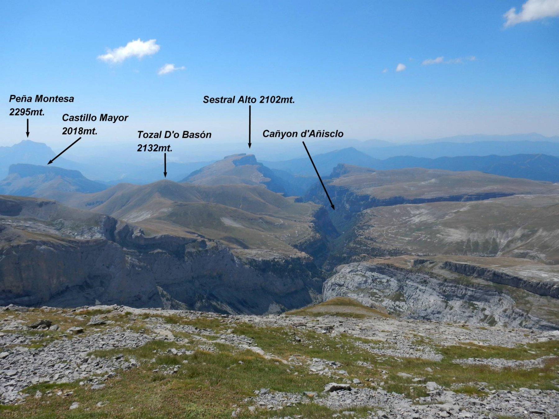 Panorama dalla Faja de las Olas.