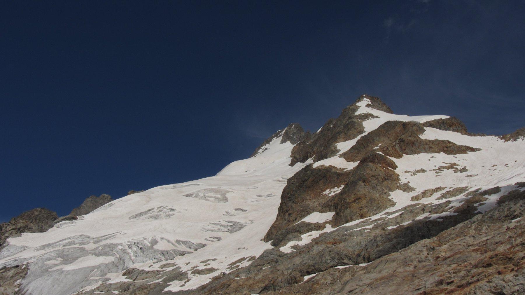 Condizioni generali del ghiacciaio ancora buone