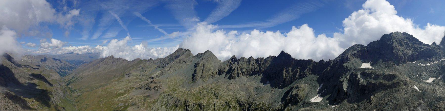 Panoramica dal monte Losetta