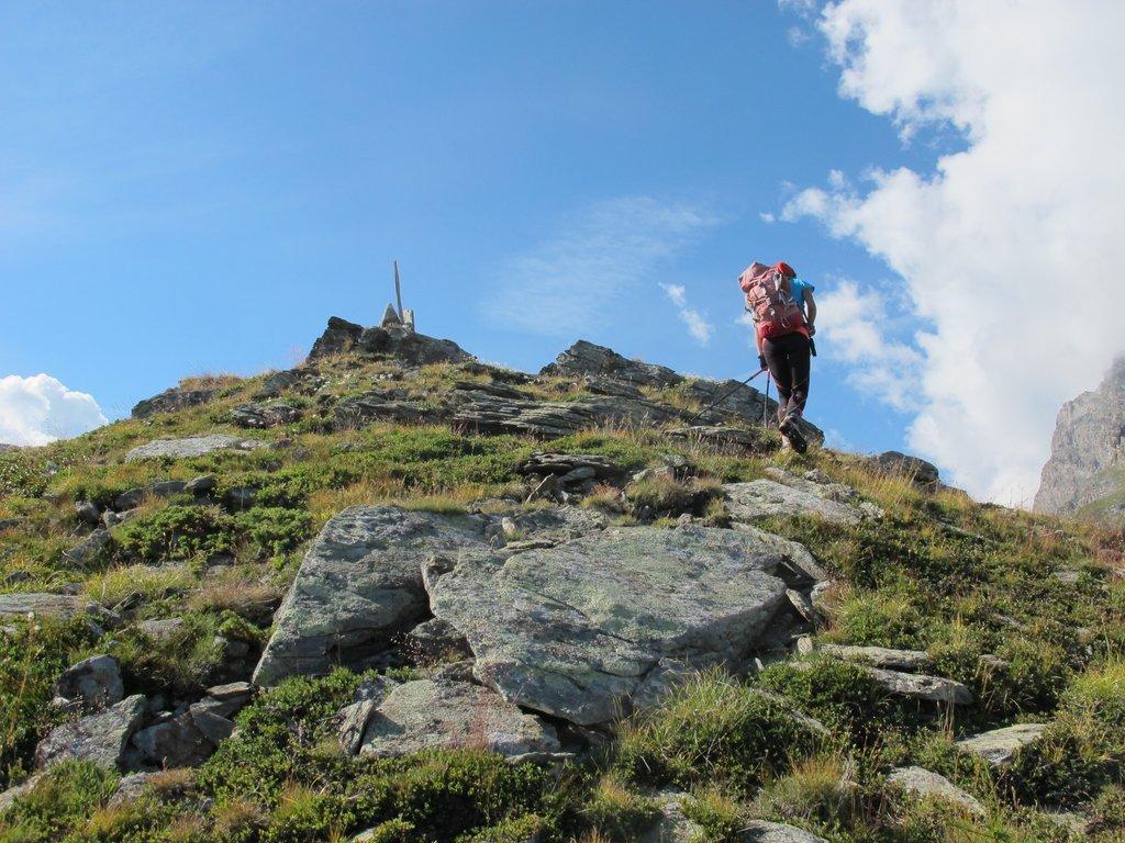 Risalendo al Mont de l'Ane