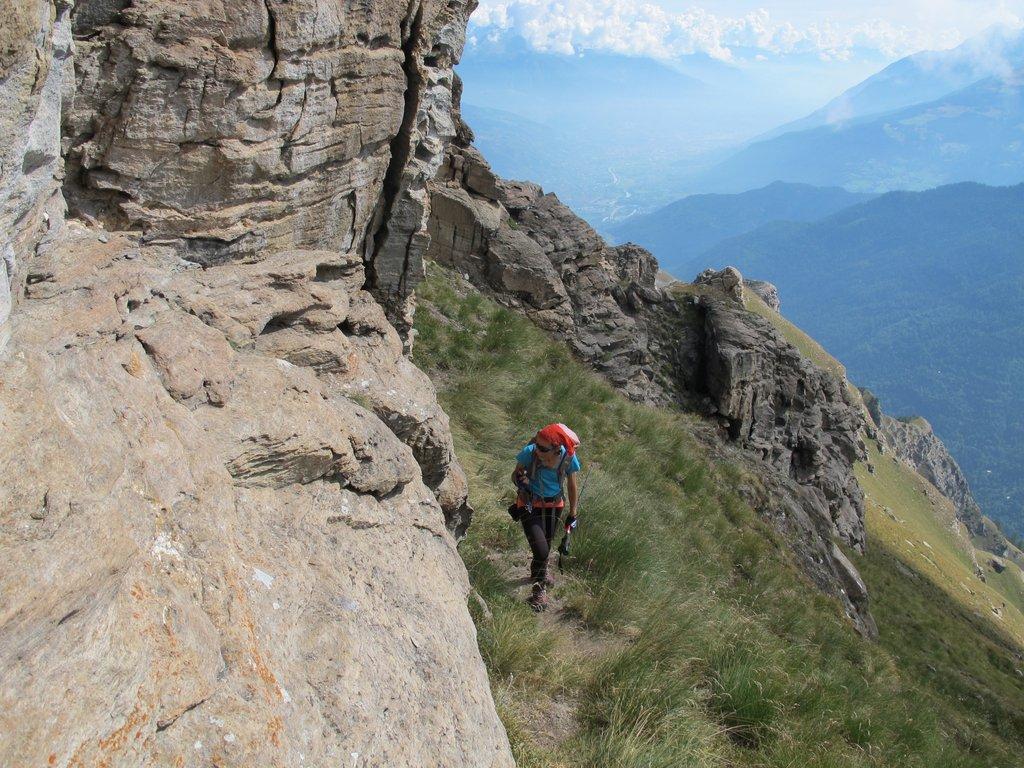 Passaggi sulla cresta E