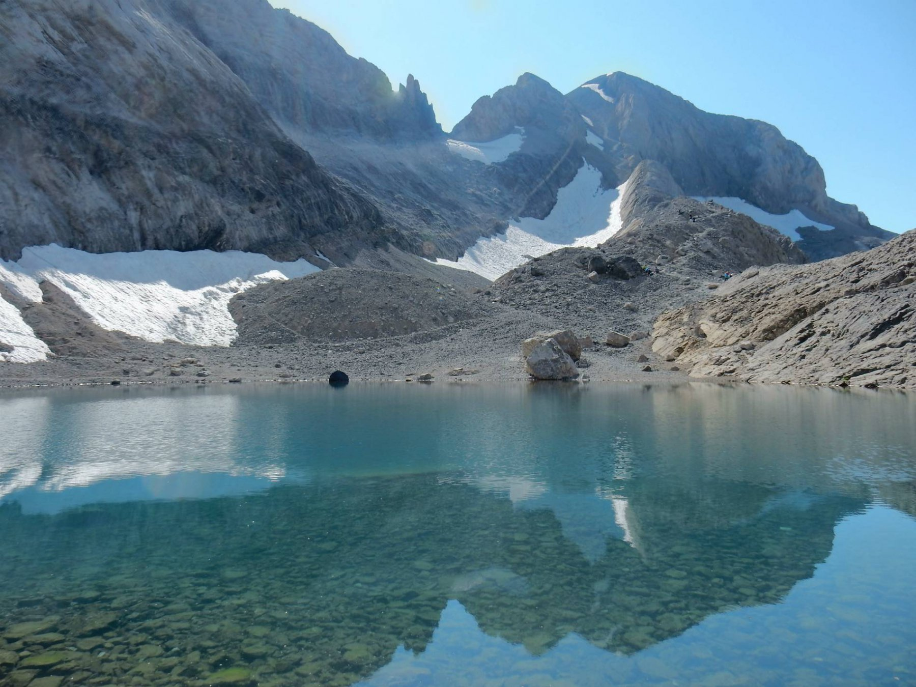 Lago Helado 2990mt. e M.Perdido 3355mt.