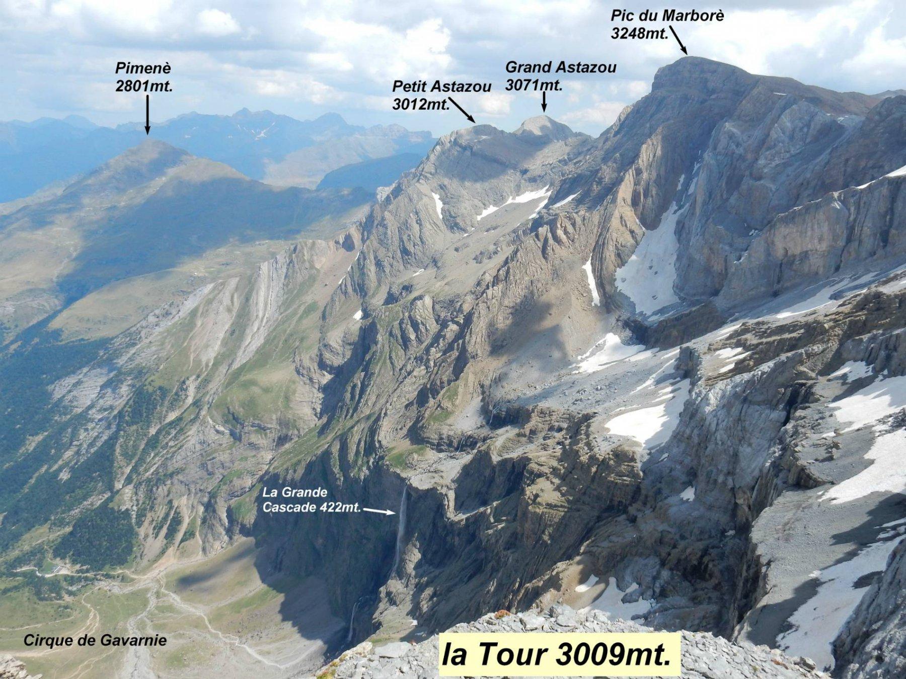 Arriviamo su La Tour 3009mt. 3° 3000...per oggi può bastare.
