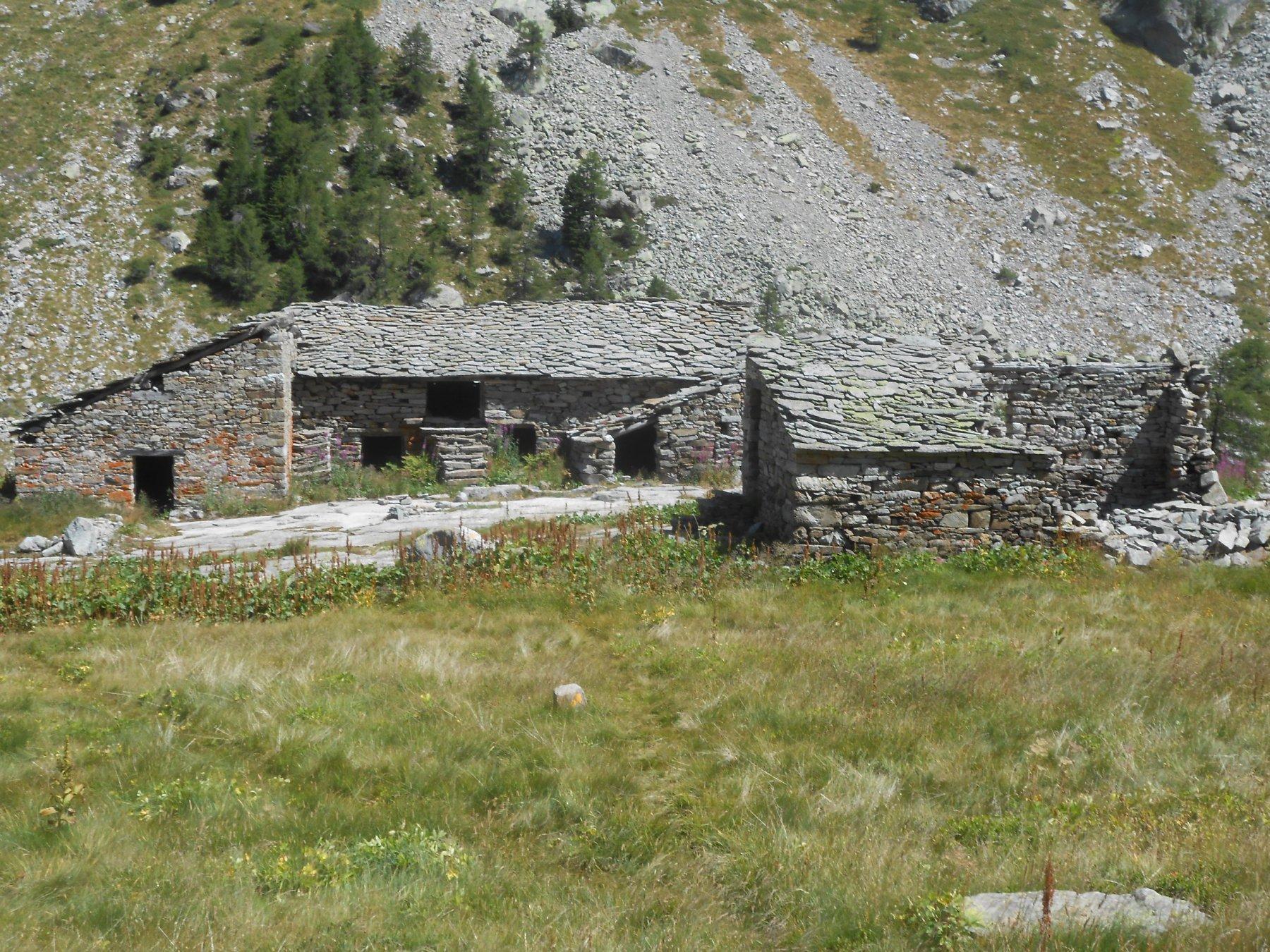Alpe del Lago, al Lago di Frudière