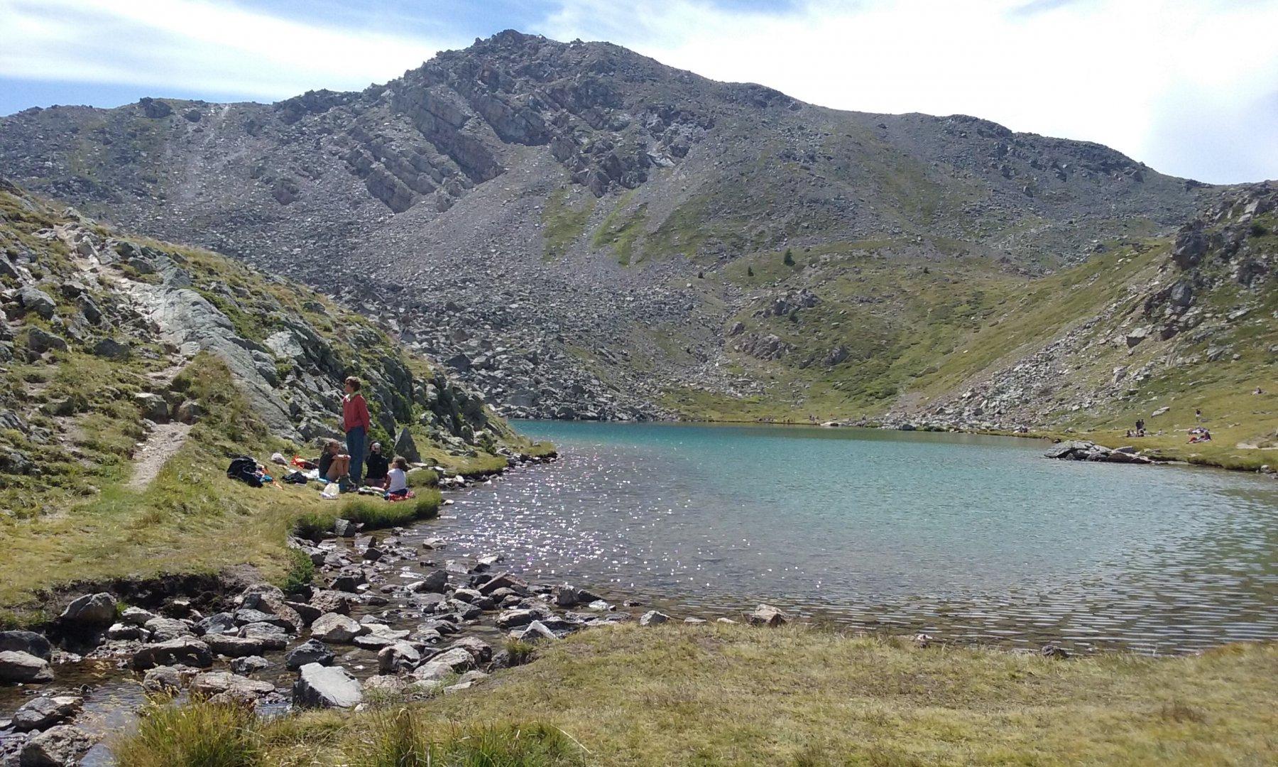 Cristol, Cibières, Oule (Col de) da Nevache, anello 2016-08-19