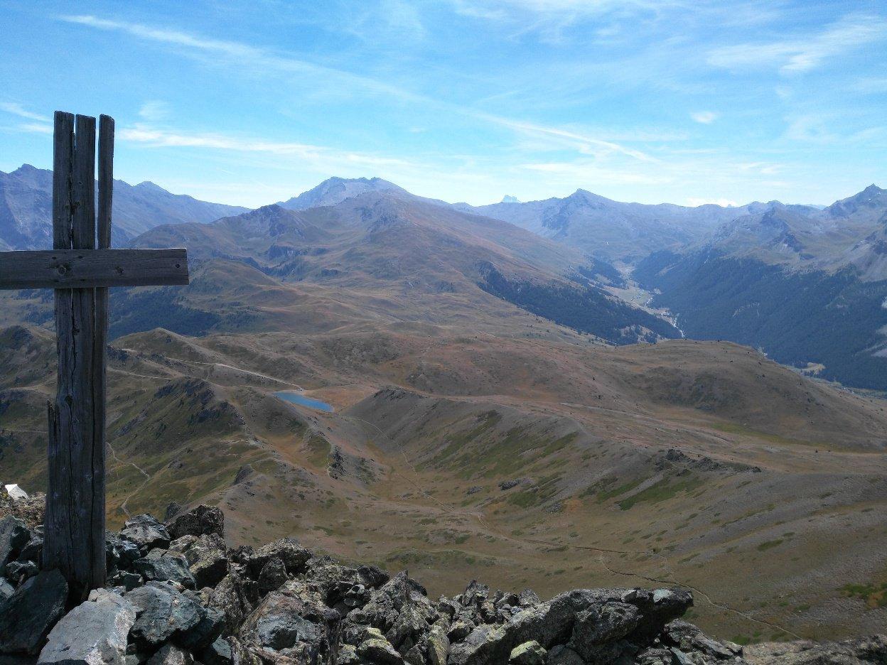 Dalla vrtta verso Valle Cervieres.