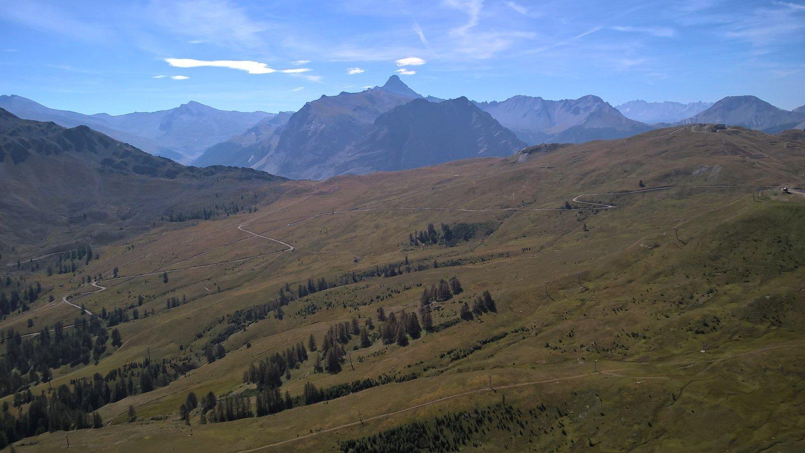 Vista su Rochebrune e Merciantaira