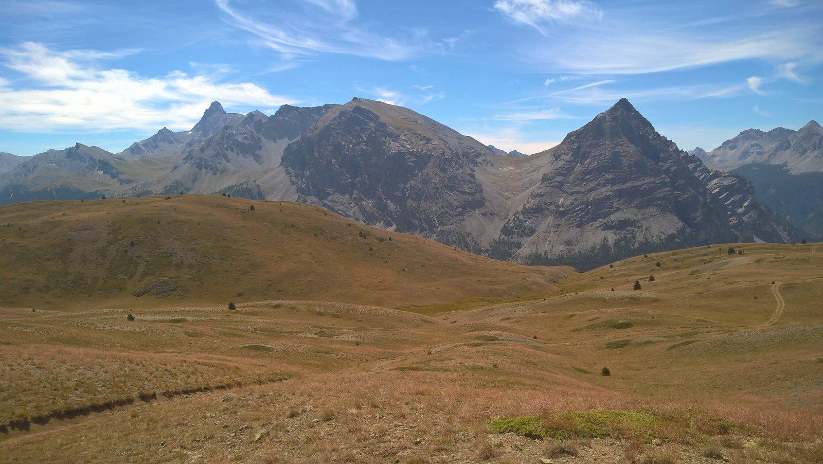 Girando intorno al Pic de Rochebrune