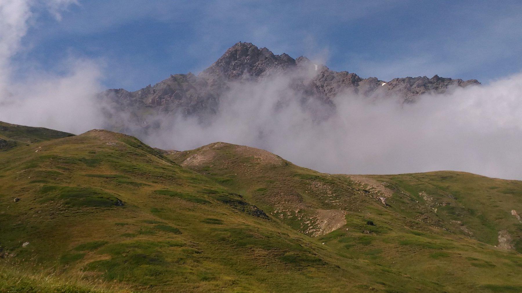 Il Signal visto dai pressi del Refuge du Petit Mont Cenis