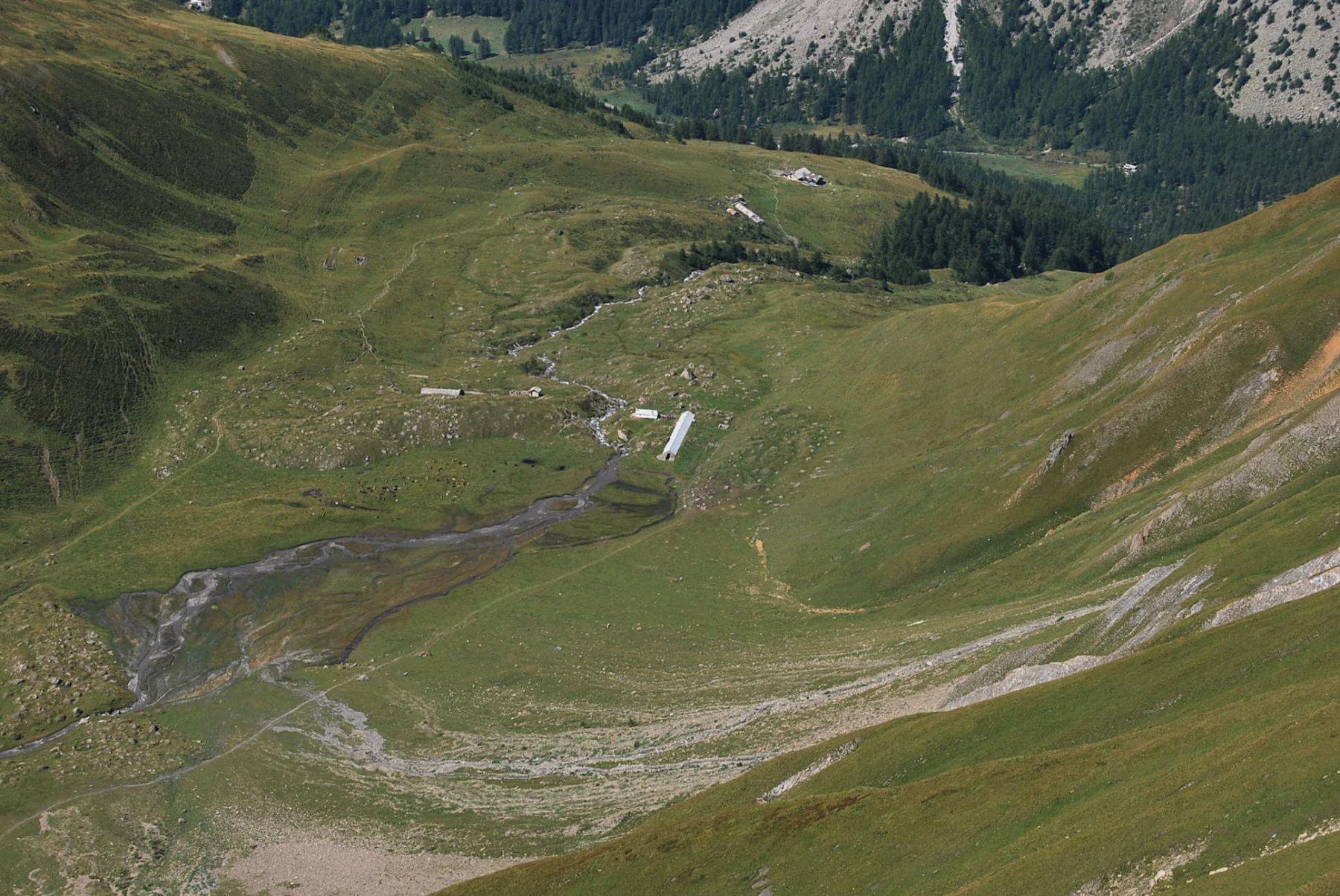 Bellecombe (Vallone) da Arnouvaz per punta 2890 m in traversata per Vallone Malatra 2016-08-21