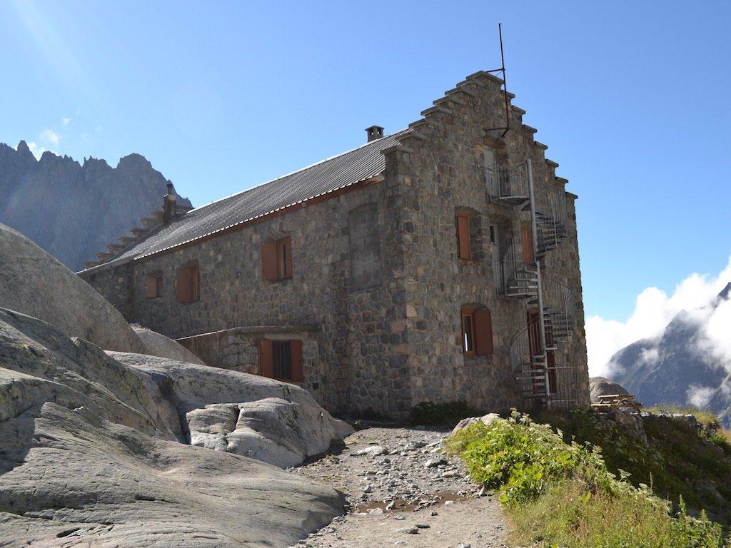 Il rifugio Glacier Blanc