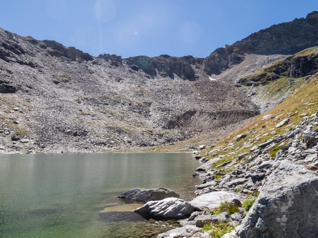Lago della Vecchia mt.2674...