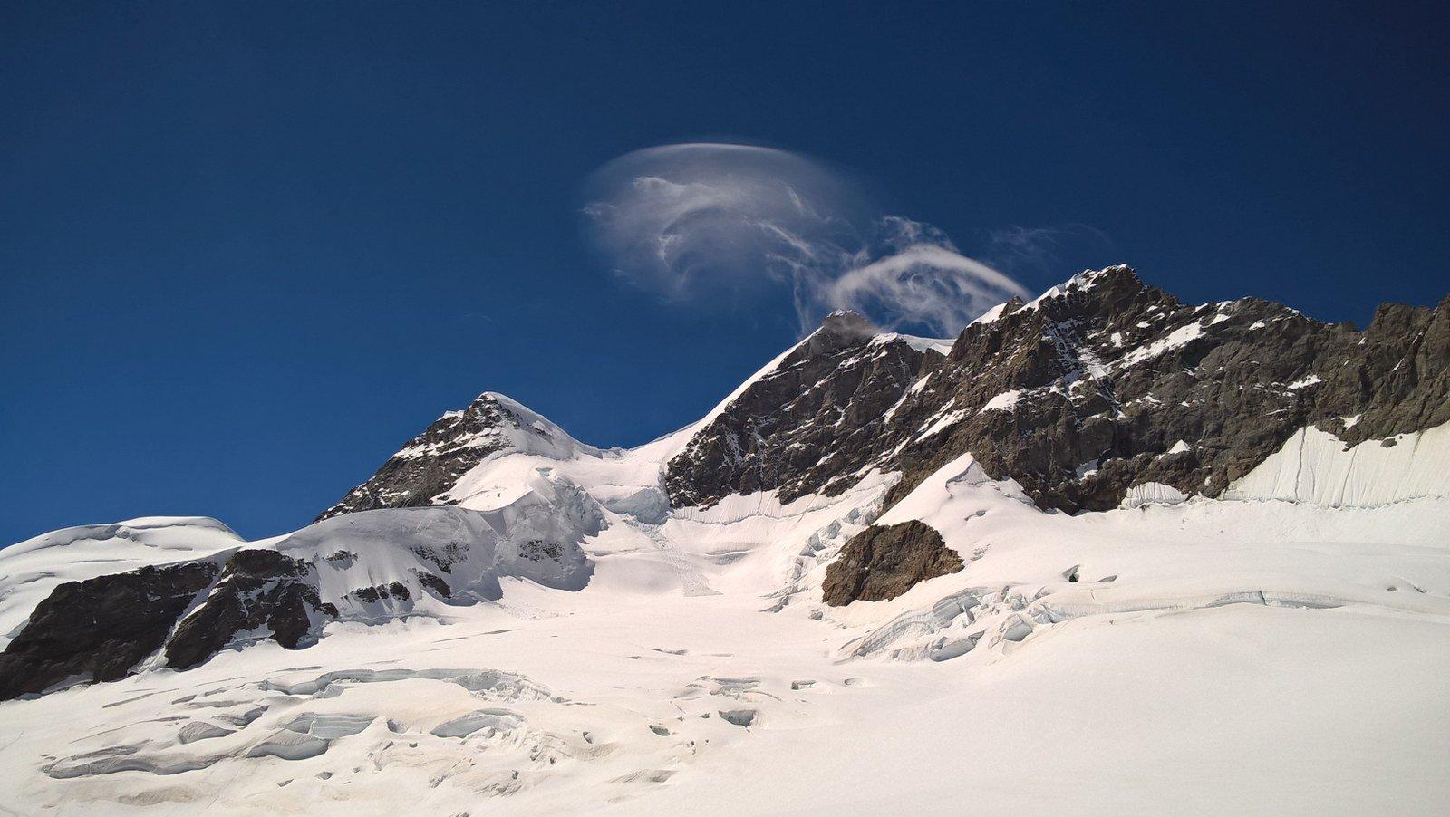 Jungfrau Via Normale dallo Jungfraujoch 2016-08-22
