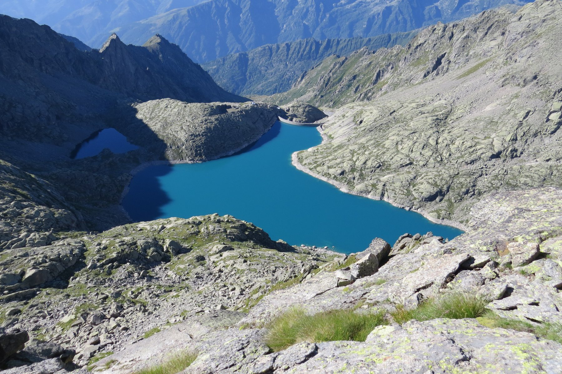 A sud il Lago di Valsoera