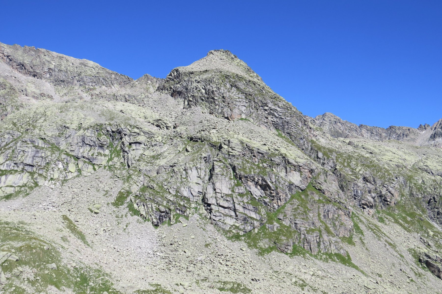 Punta di Motta, dalla Bocchetta di Valsoera