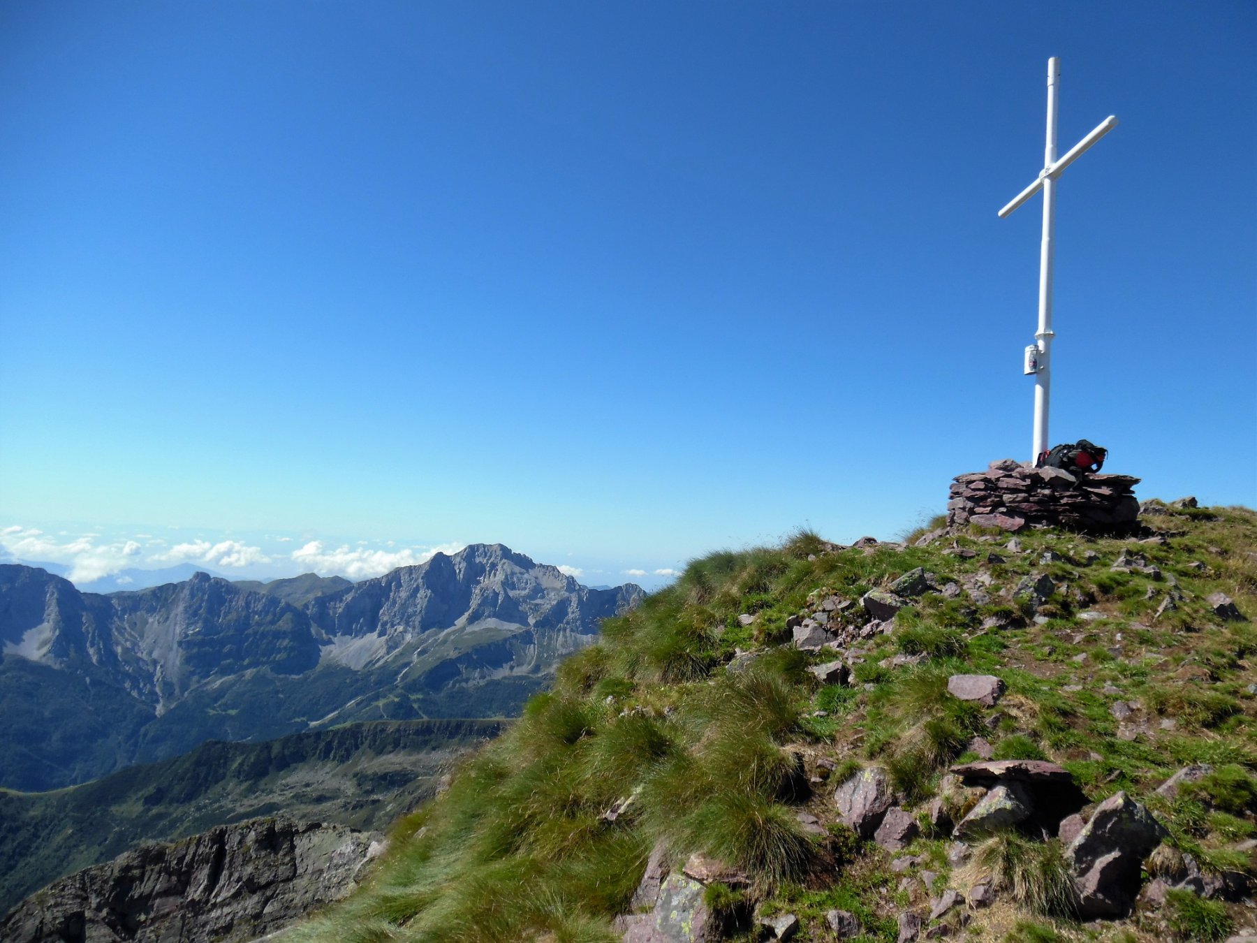 Monte Pradella 2626 m, dietro l'Arera