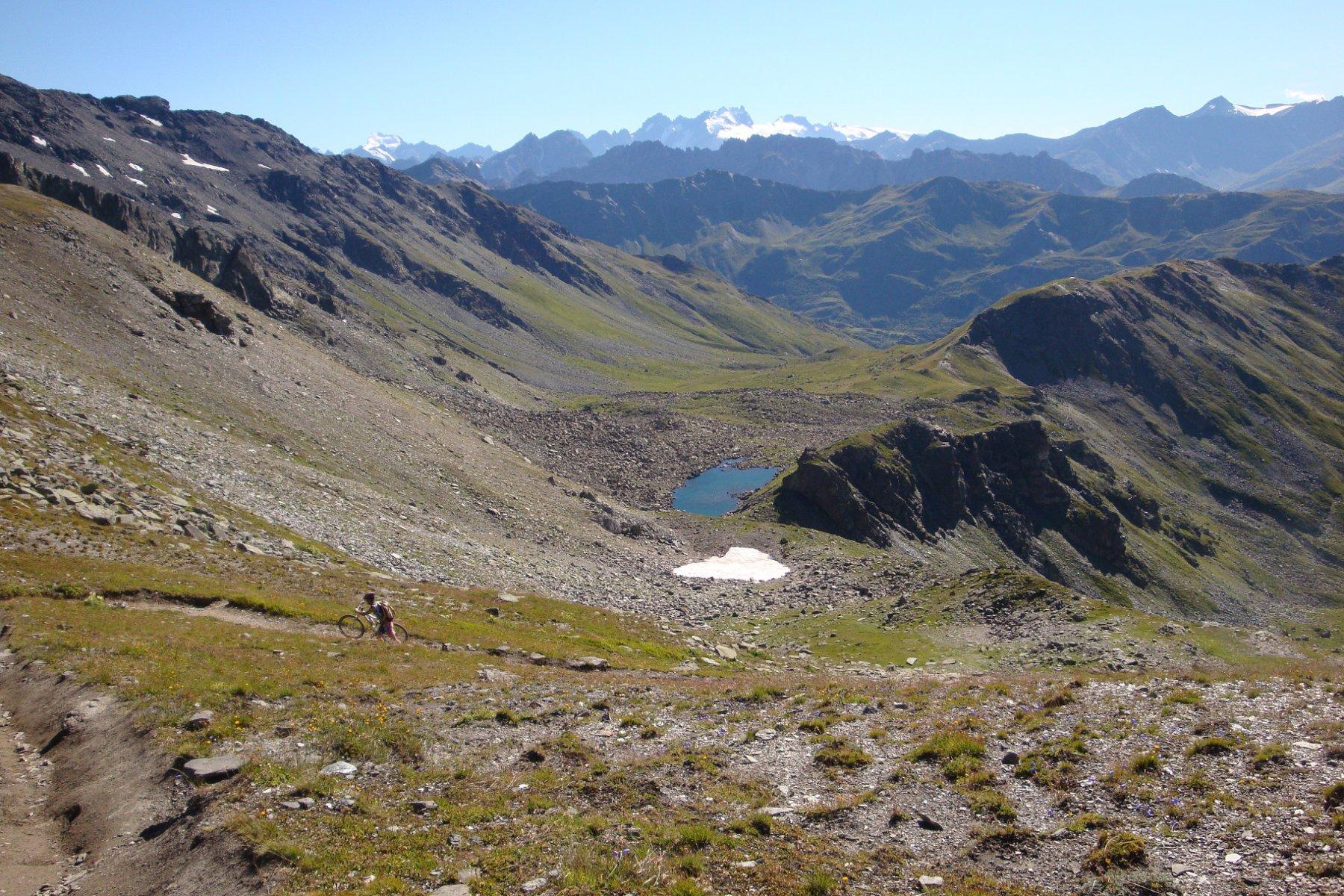 il Lac de Roche Noir dal col des Marches