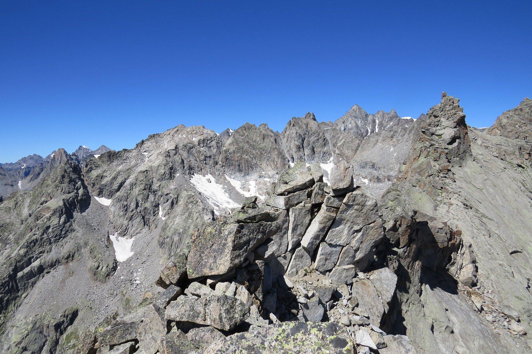 La gemella Punta Settentrionale di Valsoera