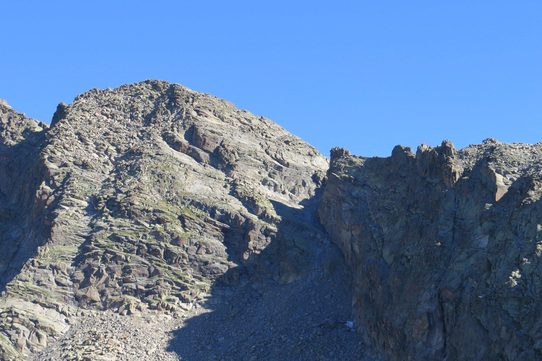 Zoom sulla Punta Meridionale di Valsoera