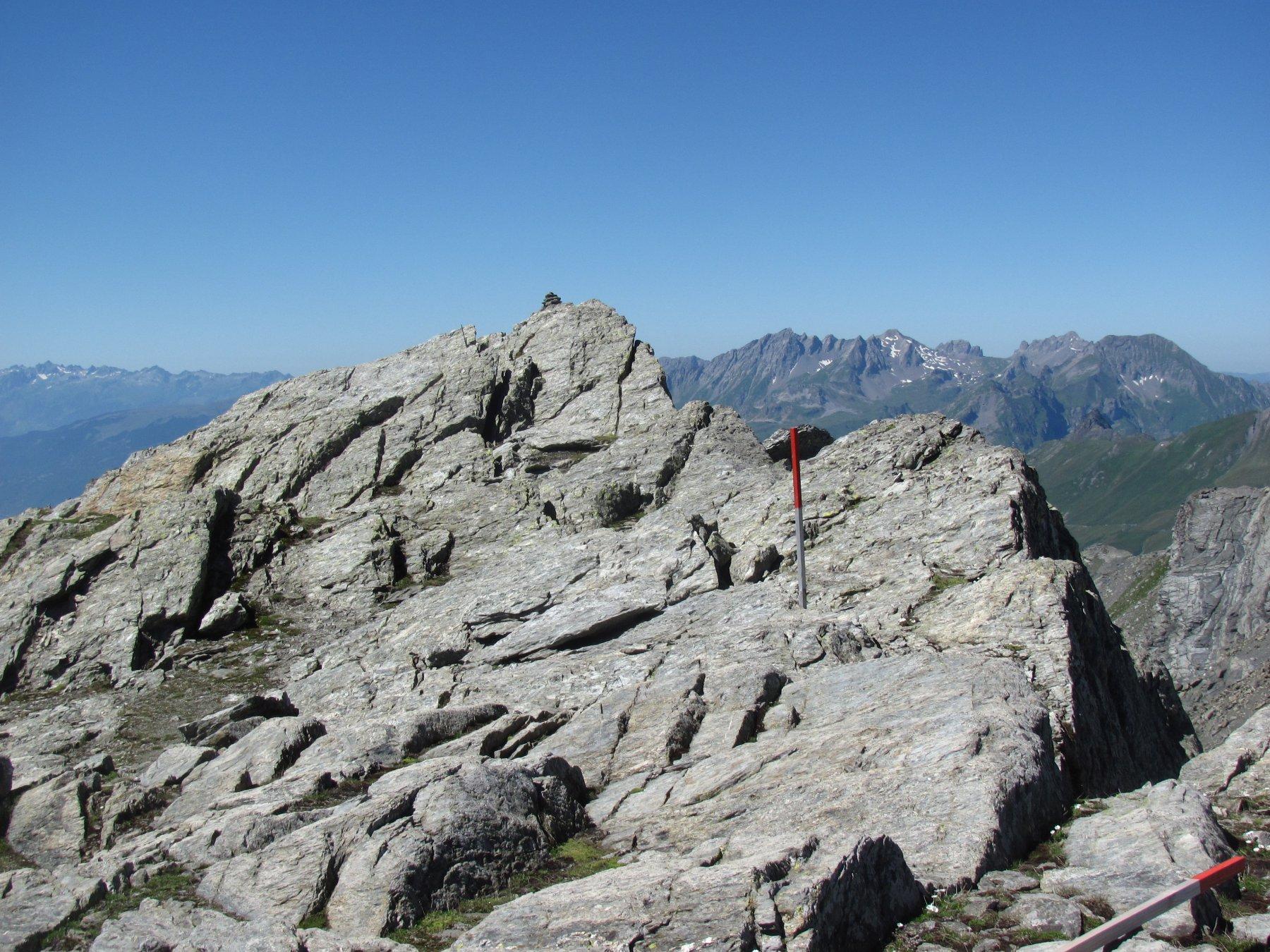 La piccola cima del M. Freduaz meridionale