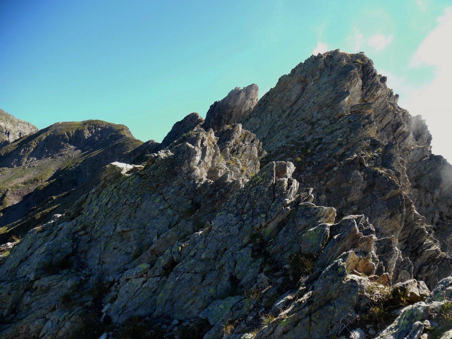 Cresta verso il Grabiasca