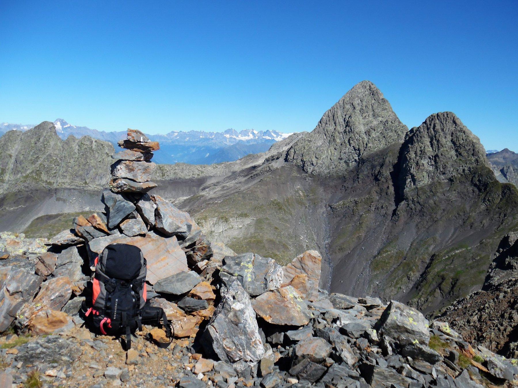 Grabiasca 2705 m. Dietro i Diavoli e il Rondenino